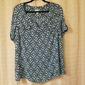 1X blouse Croft & Barrow blouse